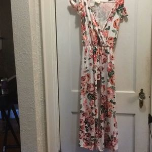 Caution to the Wind Floral dress